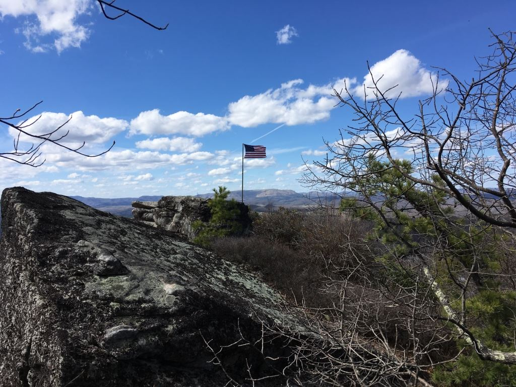 Photo of view of Flag Rock